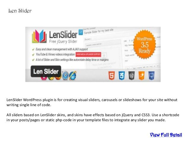 how to add slider images in wordpress