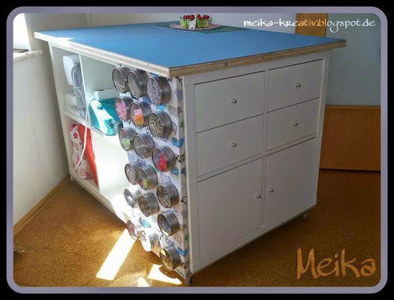 Meika – kreativ: Selbst gebauter Zuschneidetisch e…