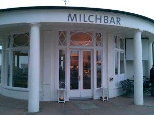 Die Milchbar auf Norderney - sooo leckerer Milchreis und die tollste Abendstimmung der ganzen Insel...