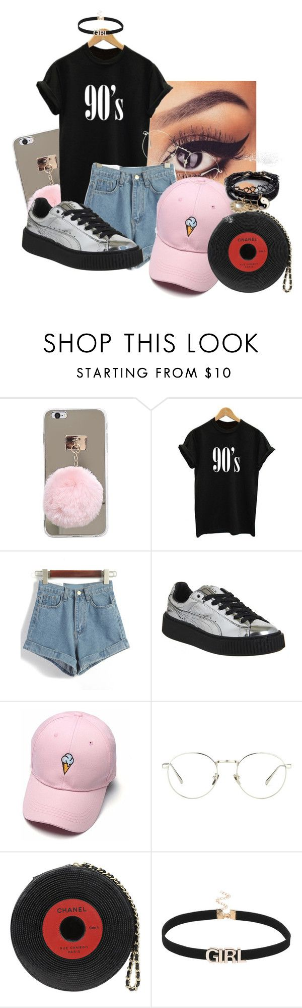 """""""Untitled #143"""" by millanj-fashion on Polyvore featuring Puma, Linda Farrow, Chanel and ASOS"""