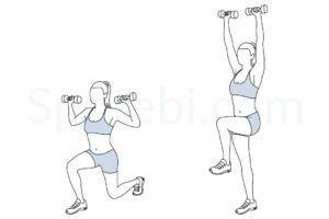 illustrated exercise guide  workout guide shoulder