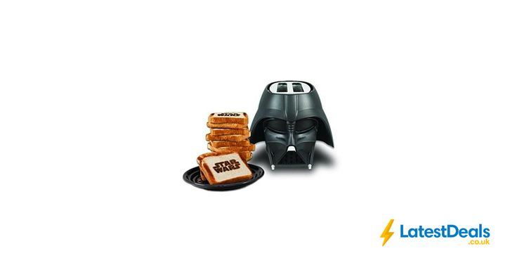 Star Wars Darth Vader Toaster Save £6.37 Free Delivery Only 9 left in stock, £33.62 at Amazon UK