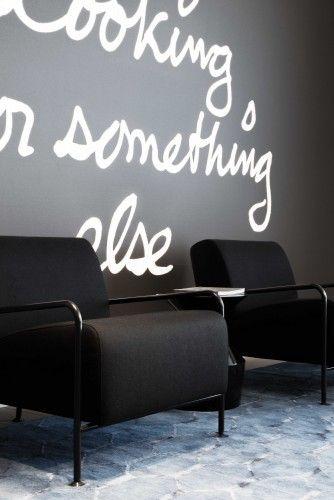 Kordekor   Innoverende interieurs   #stretch #wall #print #words #inspirational #office