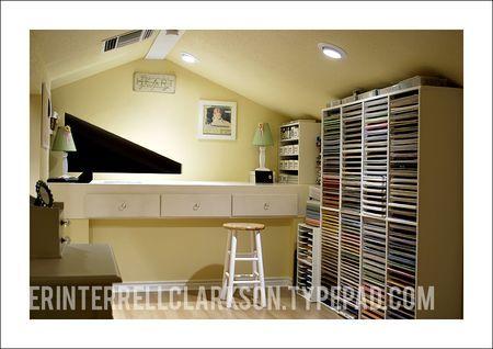 untitled: Storage Spaces, Attic Spaces, Crafts Spaces, Attic Crafts Rooms, Scrapbook Paper, Rooms Ideas, Scrapbook Storage, Scrapbook Rooms Offices, Paper Storage