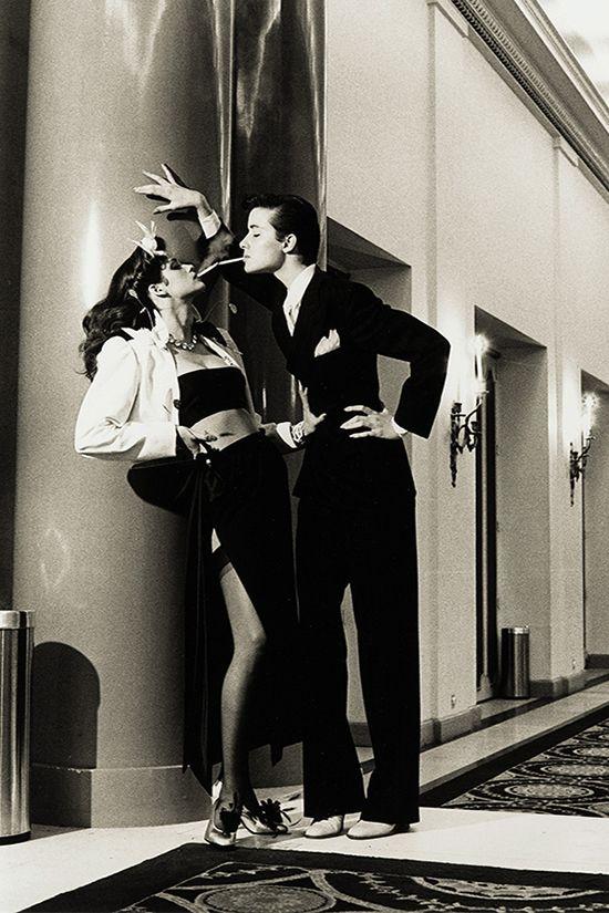 Хельмут Ньютон. Woman Into Man. Париж, 1979