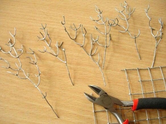 Créer des branches à partir d'un grillage