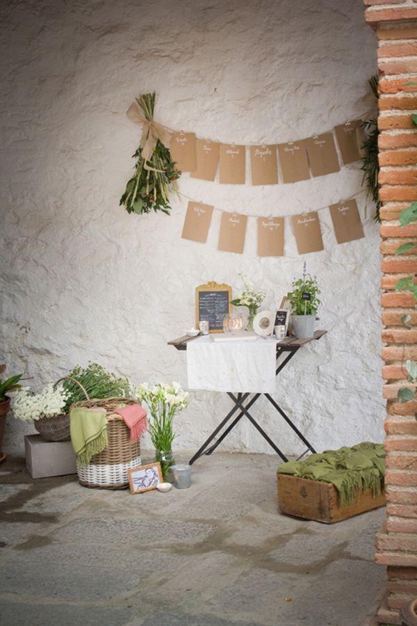 decoracin de boda buclica vintage decorando con los recuerdos