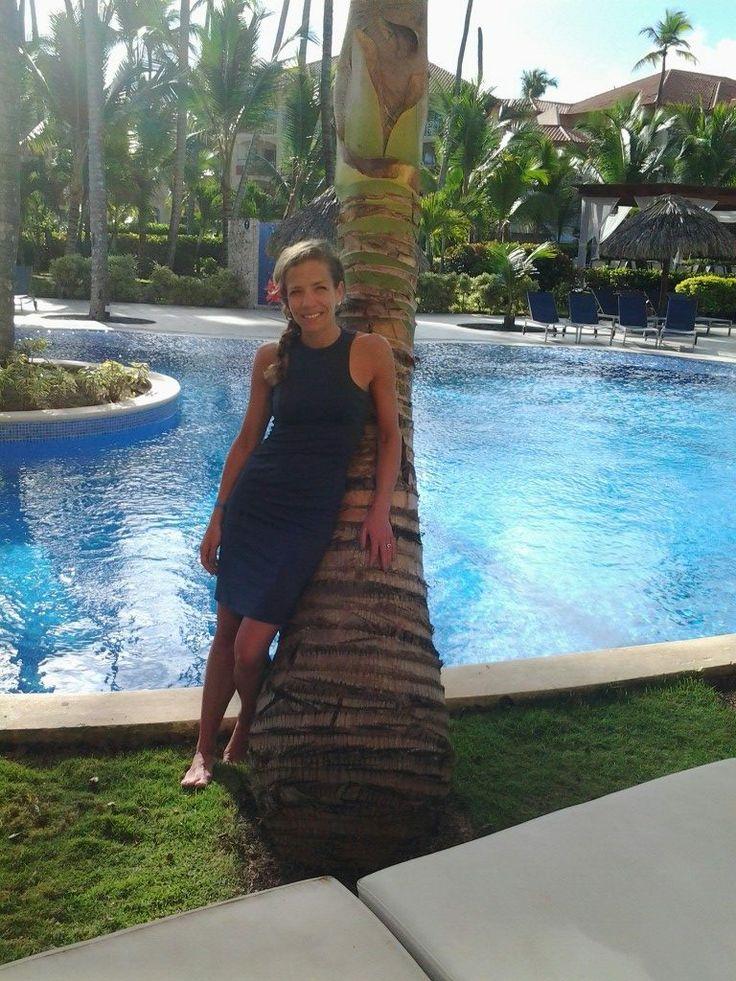#FIGambassador Anna wearing the VOG dress in the #DominicanRepublic #travel