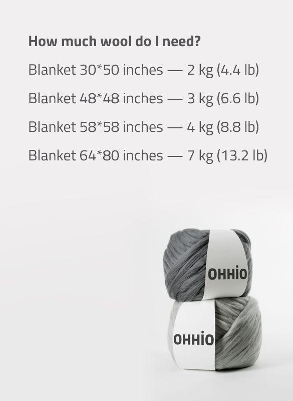 Ohhio arm knitting wool                                                                                                                                                                                 More