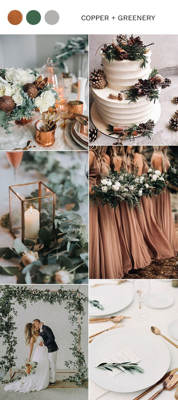 Top 10 Winter Wedding Color Ideas for 2019 & 2020 - Oh Best Day Ever |  Wedding color schemes winter, Fall wedding colors, Wedding theme colors