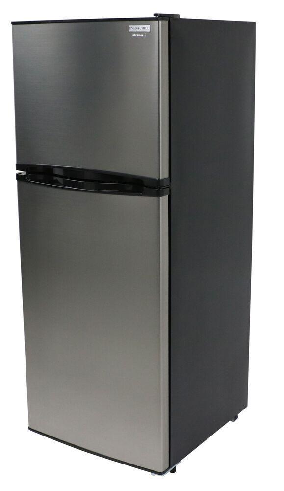 Everchill Rv Refrigerator W Freezer 10 Cu Ft 12v Stainless Steel Everchill Rv Refrigerators 3 Rv Refrigerator Fridge Freezers Refrigerator