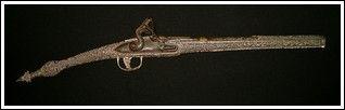 Armi Orientali - Grecia - Rarissima pistola a pietra focaia in stile Roka. Antiquariato su Arsantik