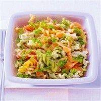Fusilli met zalm recept - Pasta - Eten Gerechten - Recepten Vandaag
