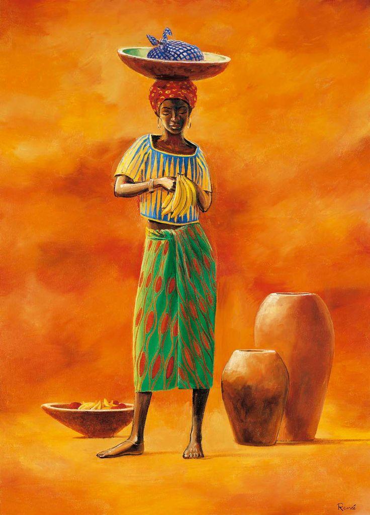 SON CUADROS AFRICANOS ORIGINALES DE AFRICA