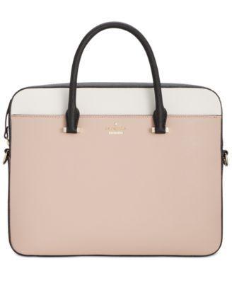 kate spade new york 13-Inch Saffiano Laptop Bag | macys.com