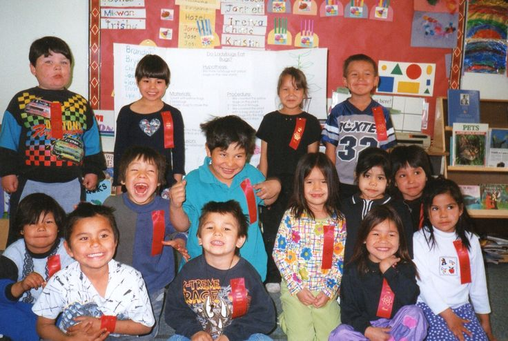 These students were thrilled to get a ribbon and prize for their participation.
