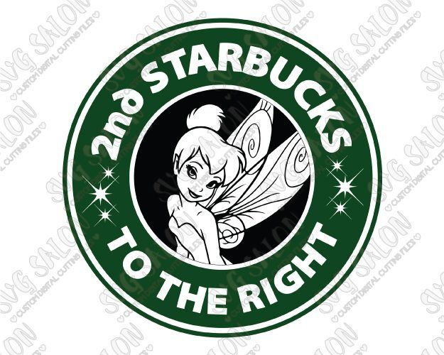 Fairy Coffee Cut File in SVG, EPS, DXF, JPEG, and PNG
