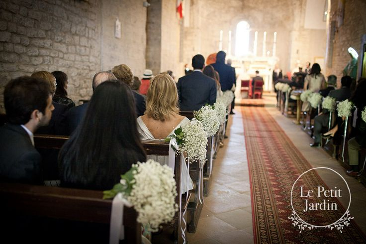 heavy use of gypsophelia is great for a darker religious setting