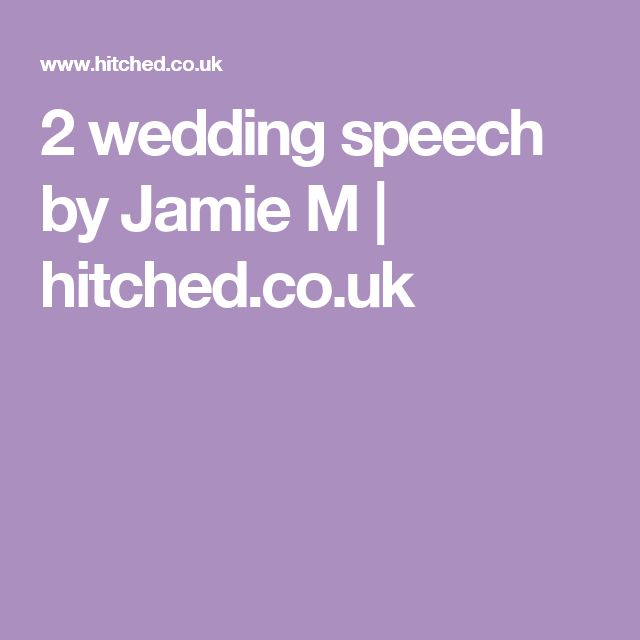 Order Of Speeches At A Wedding: 25+ Best Ideas About Wedding Speech Examples On Pinterest