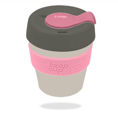 Barista-standard reusable coffee cups for stylish coffee drinkers on-the-go.
