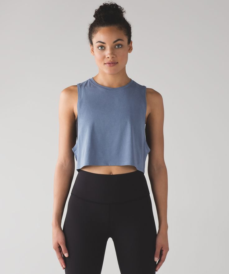 Women's Workout Tank - Muscle Love Crop Tank - lululemon 17