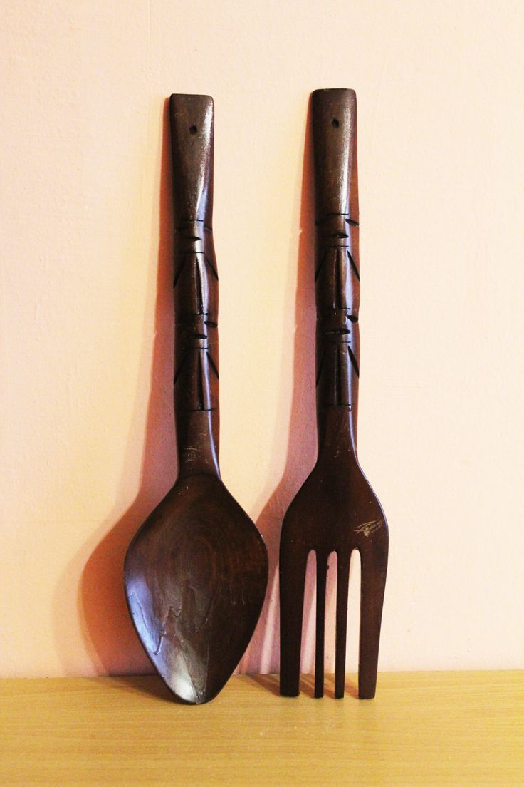 Large Fork And Spoon Wall Decor 17 Best Ideas About Carved Wood Wall Art On Pinterest Wooden