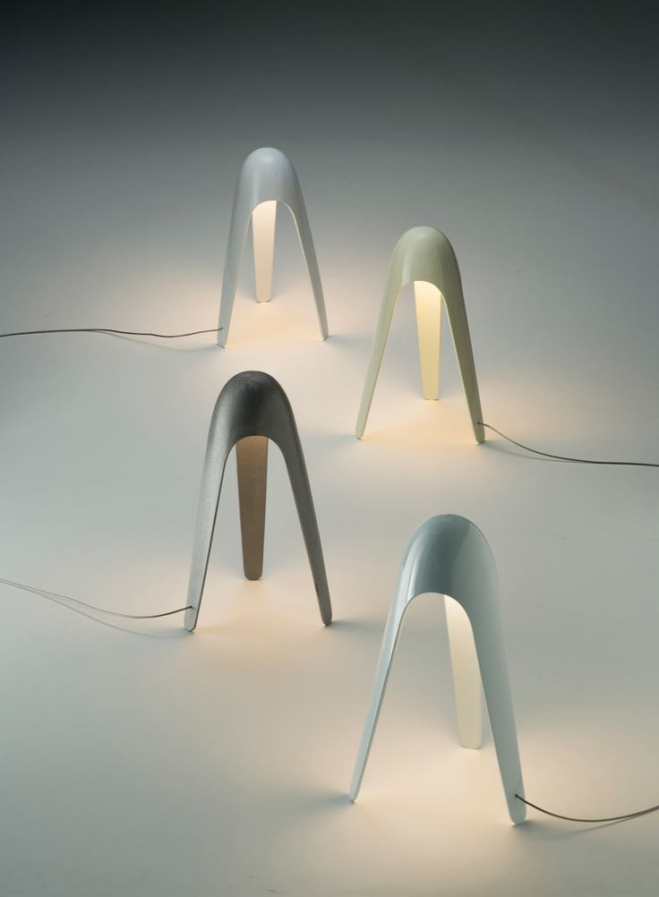 Cyborg Lamp by Karim Rashid for Martinelli Luce - Design Milk