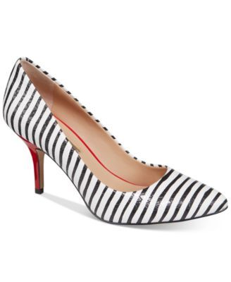 INC International Concepts Womens Zitah Pointed Toe Pumps, Only at Macy's $69.50 Classic elegance. INC International Concepts's Zitah pumps put a nice polish on anything, from worksuits to dresses.