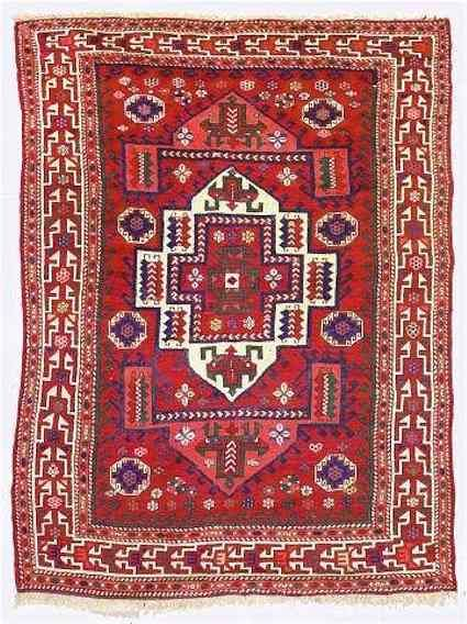 Bergama area village rug, West Anatolia.