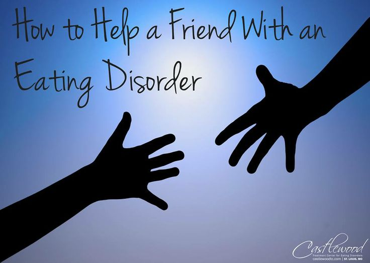 dating someone in recovery from an eating disorder Eating disorders are mental illnesses, and some of the depressive, anxiety-ridden, or obsessive thoughts or behaviors may persist even after recovery as a partner, you need to be prepared for rough days.