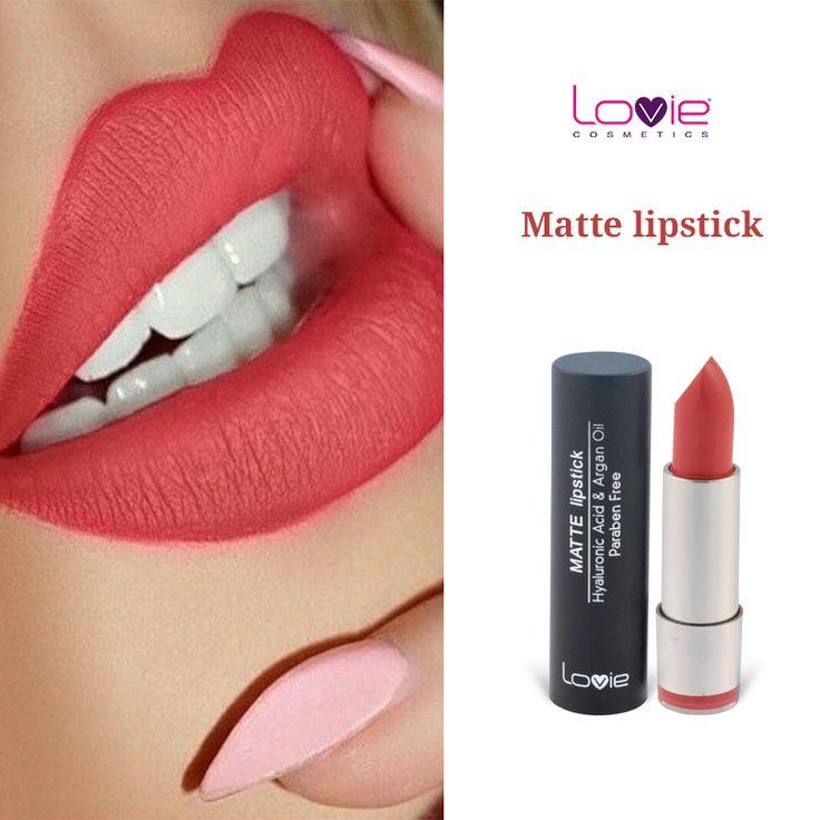 Δοκιμάστε τα Matte lipstick της Lovie σε πιο ανοιξιάτικες αποχρώσεις, όπως το No 204! http://www.lovie.gr/kragion-lovie/mat-kragion/mat-kragion-lovie-204 #lovie #cosmetics #matte #lipstick