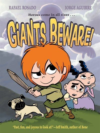 Graphic Novel - Claudette's fondest wish is to slay a giant. But her village is so safe and quiet! What's a future giant slayer to do? With her best friend Marie (an aspiring princess), and her brother Gaston (a pastry-chef-to-be), Claudette embarks on a super-secret quest to find a giant-without parental permission. Can they find and defeat the giant before their parents find them and drag them back home?