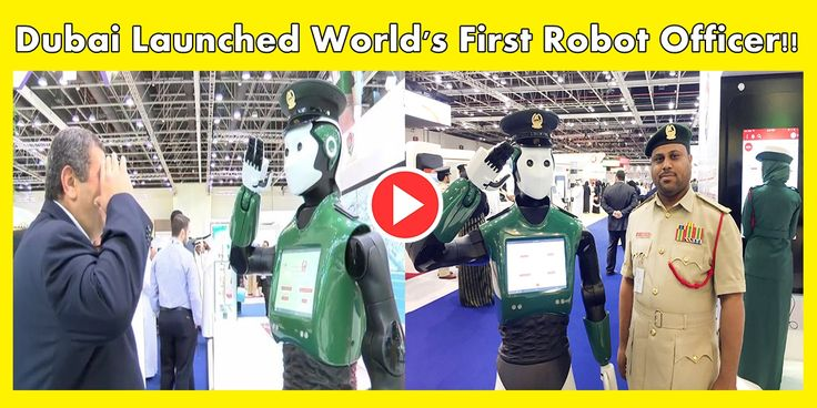 Dubai Police Force Gets Its First Crime-Fighting Droid 'Robocall' !!