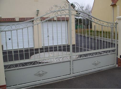 15 best Portail extérieur Maison Lavande images on Pinterest - portail de maison en fer