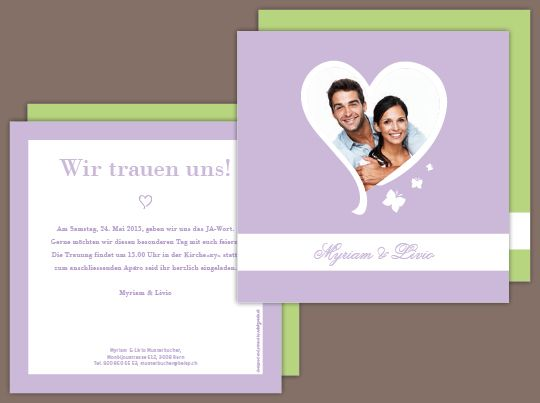 23 best Hochzeitskarten images on Pinterest