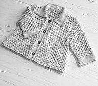 Ravelry: Baby Honeycomb Jacket P058 pattern by OGE Knitwear Designs