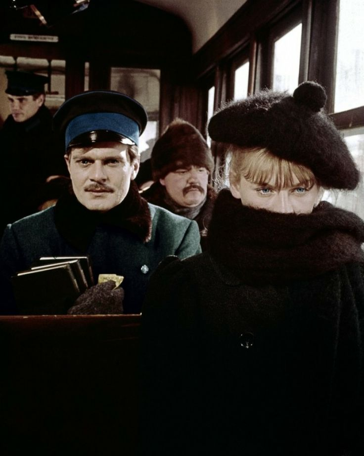 Omar Sharif and Julie Christie in Doctor Zhivago (David Lean, 1965)