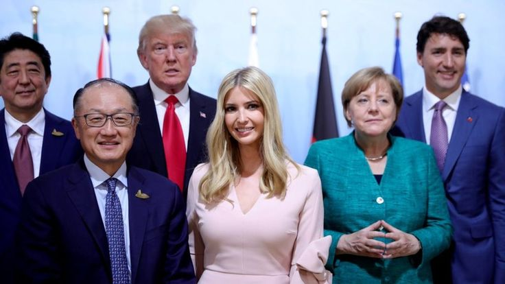 Image copyright                  Getty Images             Image caption                                      Ms Trump accompanied her father to earlier sessions before sitting in for him later                               In an unusual move Ivanka Trump briefly took her... - #Briefly, #Donald, #G20, #Ivanka, #Seat, #Table, #Takes, #Trump, #World_News