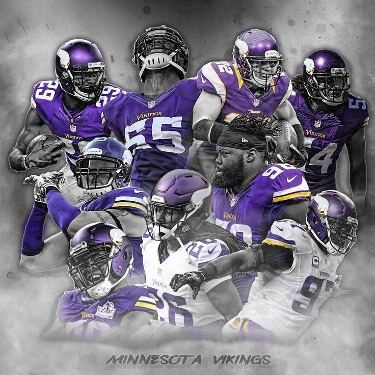 Vikings Defense Fanprint Licenses Minnesota