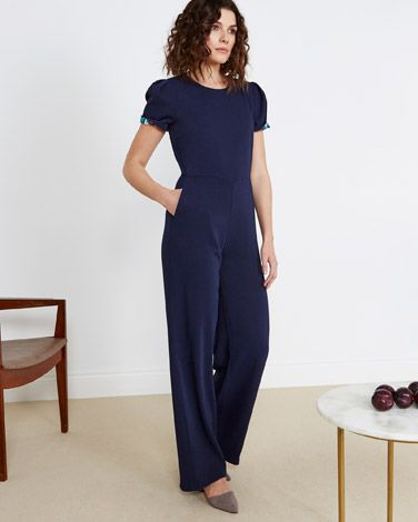 3e76f2aa4f0f navy Lennon Courtney at Dunnes Stores Navy Jumpsuit