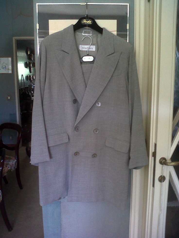 Fall Max Mara 70s  Suits (Long Jacket and skirt)