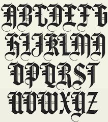 old english fonts - Google Search