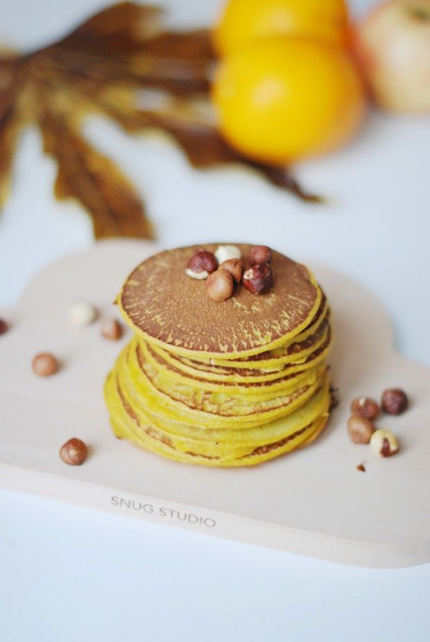 Juliette - Kitsch is my middle name - Blog Mode - Rennes: Pancakes d'automne au potimarron
