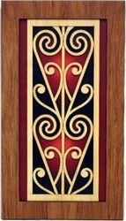 Maori Koru Rimu Wall Panel - maori, new, koru, rimu, wall, panel, zealand, ... - Shopenzed.com