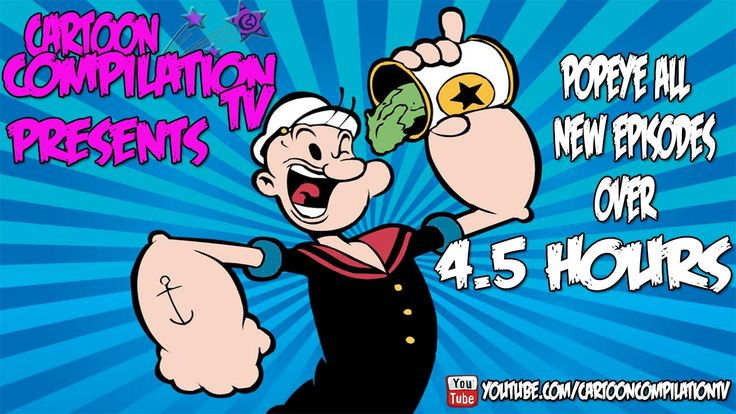 Popeye Ultimate Collection 4 Hours 2015 New Series