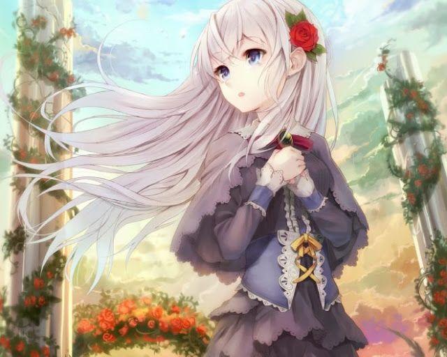صور حزينة انمي بنات Anime Angel Girl Anime Anime Art Beautiful