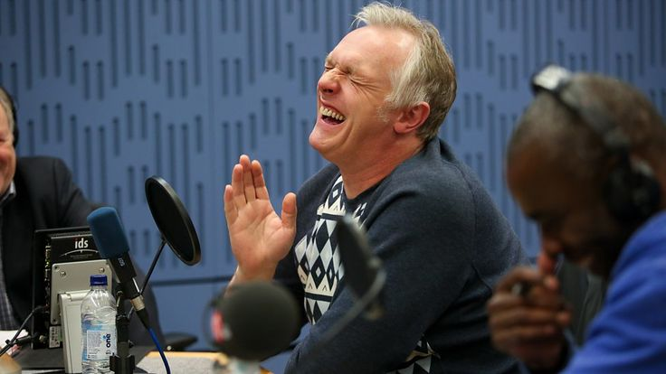 Greg Davies laughing is my favourite thing. With dancing.