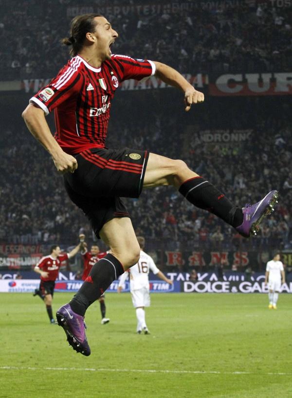 Zlatan Ibrahimovic - Milan-Roma Goal