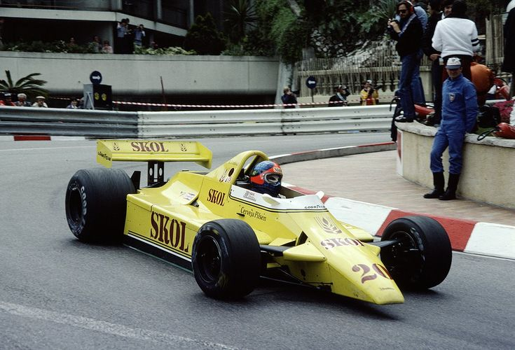 1980 GP Monaco (Emerson Fittipaldi) Fittipaldi F7 - Ford