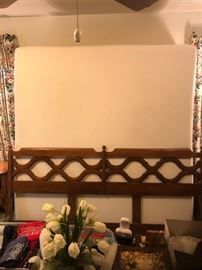 #17	Century King size headboard 	 $125.00 	  #18	Sleep Innovations King size mattress set 	 $300.00